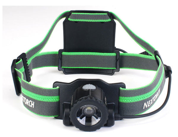 NexTorch MyStar 510 Rechargeable Zoom 3000mAh Head Lamp