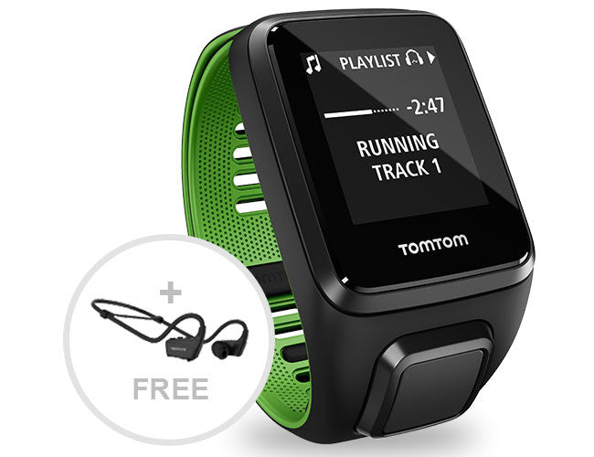 TomTom Runner 3 COM + Head Phones