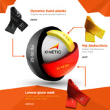 Kinetic Resistance Bands | 15lbs to 50lbs resistance.