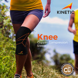 KINETIC Copper Knee Compression Sleeve