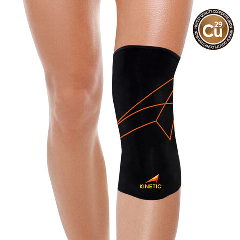 Buy Kinetic Copper Knee Compression Sleeve | Perfect Fit