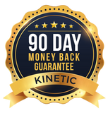 90 Day Money Back Guarantee | Kinetic Performance Gear