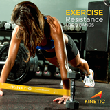 KINETIC Exercise Resistance Loop Bands | Best for At-Home Workouts, P90x, Physical Therapy - Kinetic Performance Gear