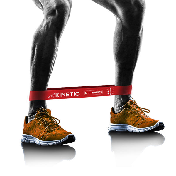 Buy Kinetic Resistance Loop Bands | from 15lbs to 50lbs Resistance.