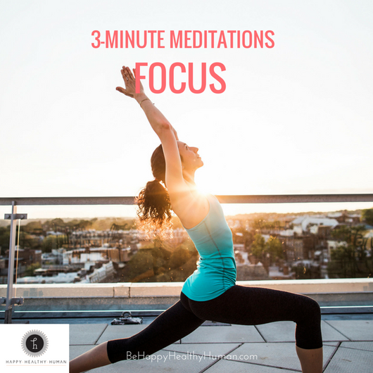 3 Minute Meditations: Focus Pack