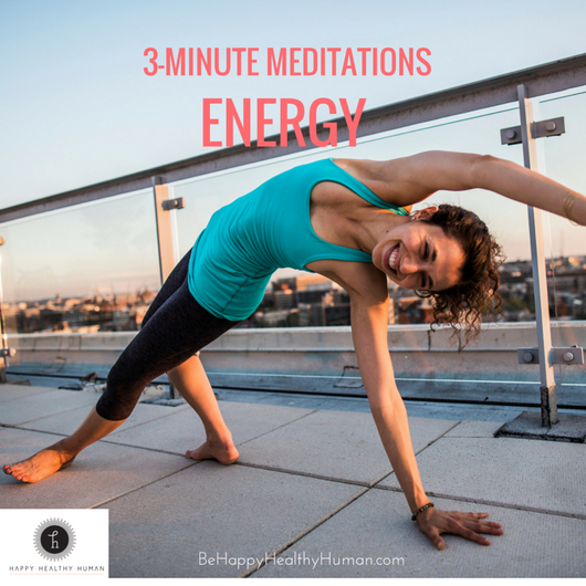 3 Minute Meditations: Energy Pack