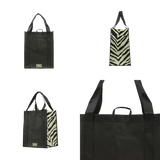 Graphic Pattern Prints Reinforced Bags