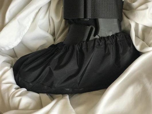Walking Boot Cover on sheets