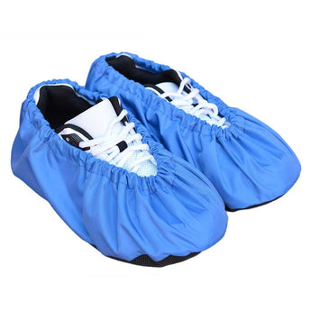 reusable and washble shoe covers - Blue