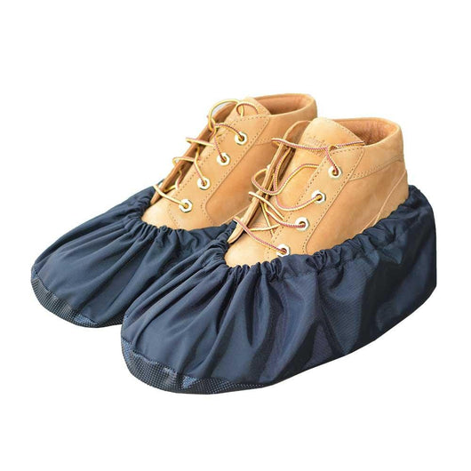 reusable and washable shoe and boot covers - Black