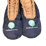 Personalized reusable and washble shoe and boot covers