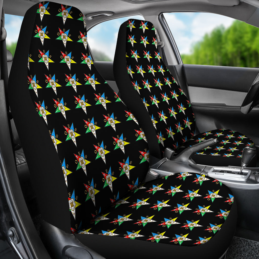 OES Black Car Seats Covers