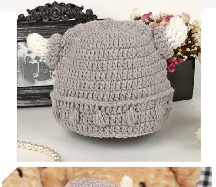 Children Handmade Crochet Viking Hat All T Store