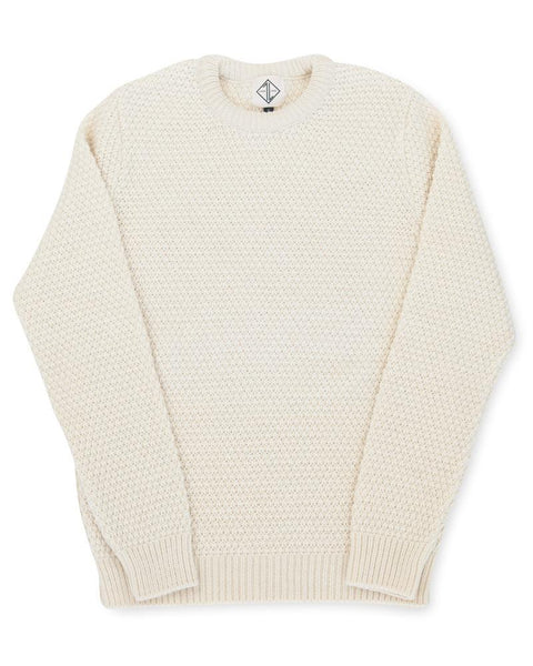 Fishermans Moss Stitch | Cream