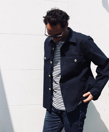 Workwear Jacket | Navy
