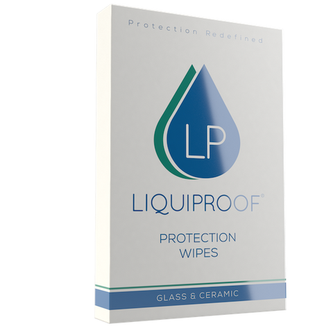 英國 LIQUIPROOF 玻璃陶瓷防護巾 | LIQUIPROOF Glass & Ceramic Protection Wipes