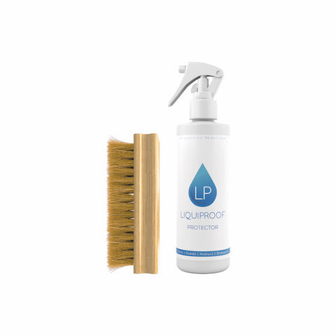 英國 LIQUIPROOF 250ml 防護劑&優質毛刷 | LIQUIPROOF Protector 250ML & Premium Hog Hair Brush