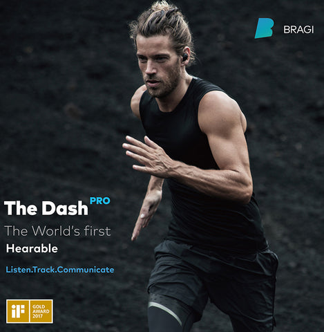 德國Bragi Dash Pro AI 翻譯運動智能無線耳機 | Germany's Bragi Dash Pro AI translates sports smart wireless headphones