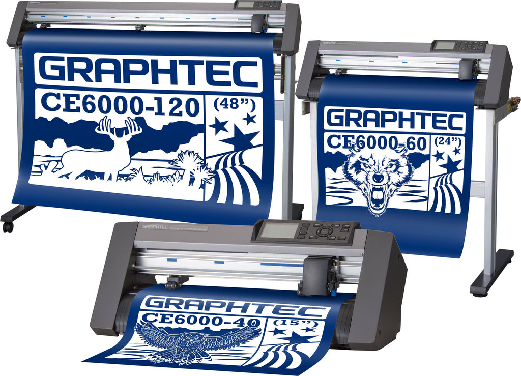 Graphtec CE6000 SERIES  PROFESSIONAL CLASS CUTTER PLOTTER