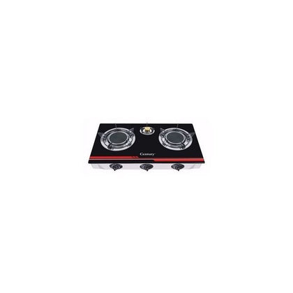 Century Century Table Top Glass Gas Cooker - 3 Burner
