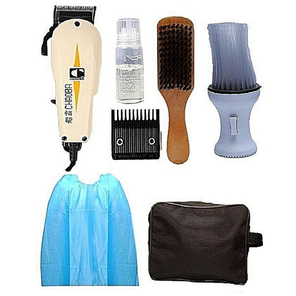 Chaoba Hair Clipper With Bag And Aftershave Complete Accessories - buktops.com