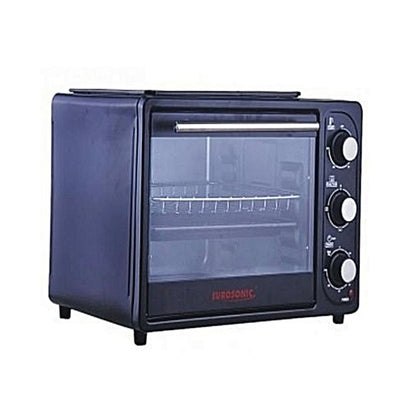 Eurosonic 20L Electric Oven With Top Grill & Barbecue Function - buktops.com