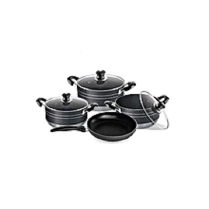 Non Stick Pot Set With Frying Pan - buktops.com