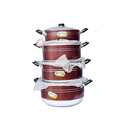 Generic Ultimate Ash 4 Piece Non Stick Pot - buktops.com