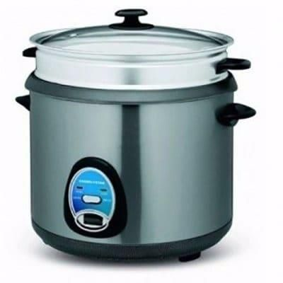 Master Chef Multifunctional Rice Cooker & Deep Fryer 3Litre - buktops.com