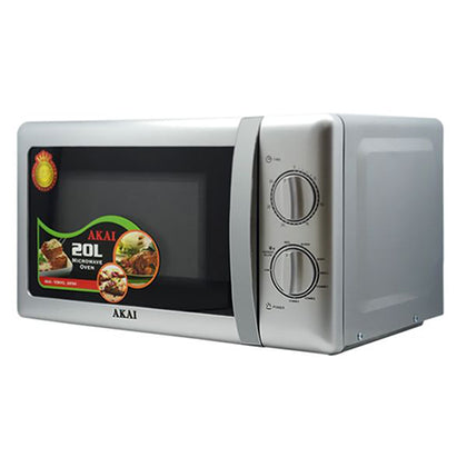 Akai 20Ltr Microwave Oven With Grill - buktops.com