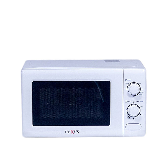 Nexus 20 Litre Microwave With Grill NX-9202 - WHITE