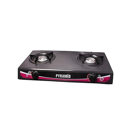 Table Top Gas Cooker With 2 Burners - buktops.com
