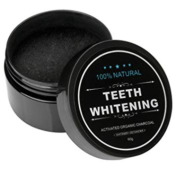 Teeth Whitening Activated Black Charcoal Powder For Whitening Teeth - buktops.com