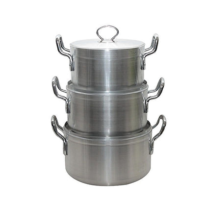 Tower Medium Cooking Pots - 3 Pieces - buktops.com