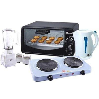 Blender + Kettle + Oven + Cooker Bundle 4