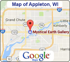 Map of Appleton, Wisconsin