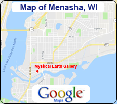 Map of Menasha, WI