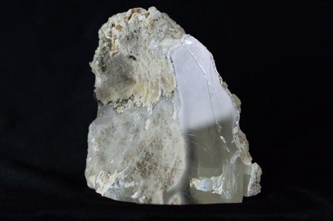 Clear Apatite from India (Front View) $1,099 at Mystical Earth Gallery