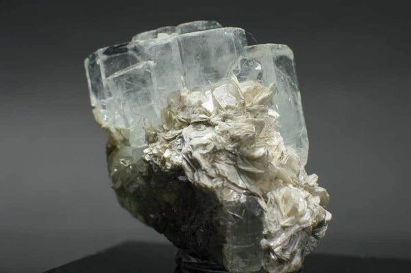 Aquamarine Crystal Cluster with Muscovite (7th Side View) for $289.99 at Mystical Earth Gallery