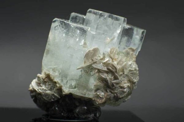 Aquamarine Crystal Cluster with Muscovite (3rd Side View) for $289.99 at Mystical Earth Gallery