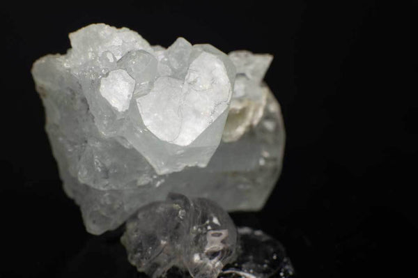 Aquamarine Cluster with Muscovite (Close Up Heart Termination) for $169.99 at Mystical Earth Gallery