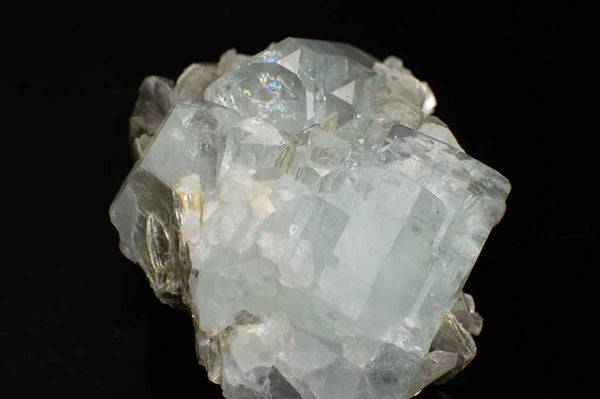 Aquamarine Crystal Cluster with Muscovite Mica (Front View #4) for $889.99 at Mystical Earth Gallery
