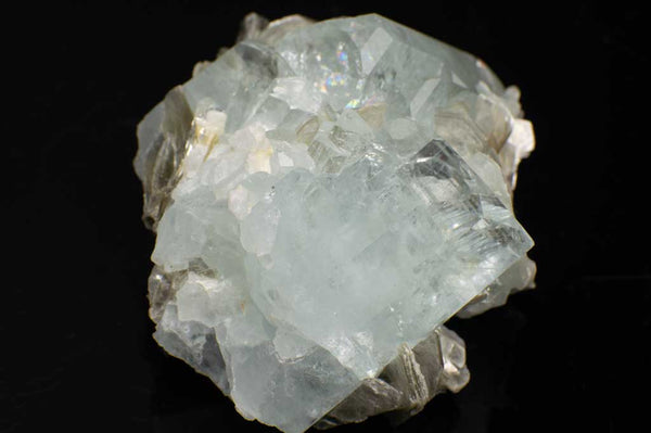 Aquamarine Crystal Cluster with Muscovite Mica (Front View #2) for $889.99 at Mystical Earth Gallery