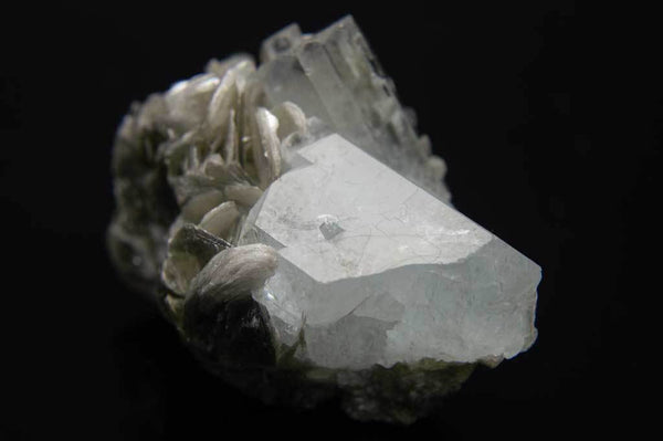 Aquamarine Crystal Cluster with Muscovite Mica (Front View #2) for $94.99 at Mystical Earth Gallery