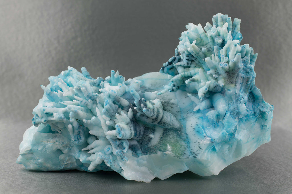 Rare Blue Aragonite, Leshan, Sichuan Province, China $539.95 @ Mystical Earth Gallery