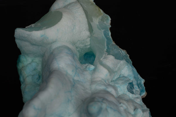 Rare Blue Aragonite, Leshan, Sichuan Province, China $337.95 @ Mystical Earth Gallery