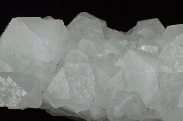 Closeup White Apophyllite Cluster with natural sediment, $79, Mystical Earth Gallery