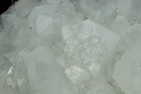 Close-up White Apophyllite Cluster with natural sediment, $79, Mystical Earth Gallery