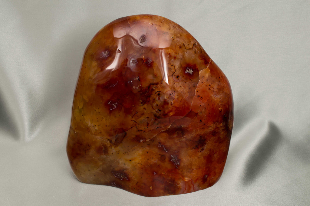 Carnelian, polished freeform, $265.95,  Mystical Earth Gallery