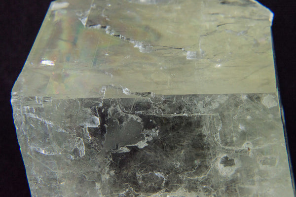 Optical Calcite, yellow color